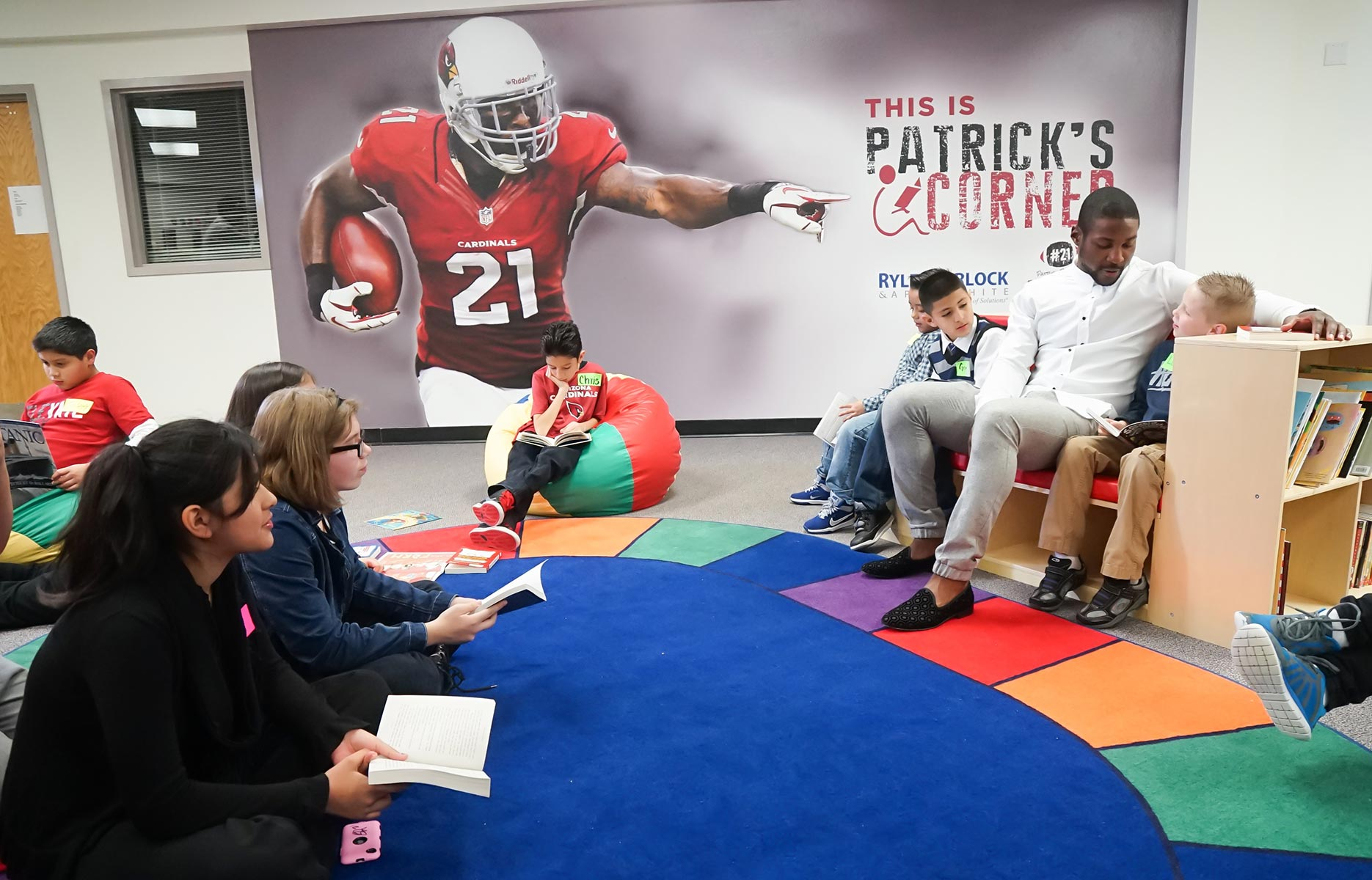 Western Window Systems Teams Up With Arizona Cardinal's Patrick Peterson to Provide At-Risk Students a Safe Place to Read